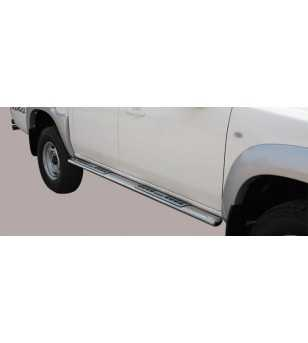 BT50 09-12 Double Cab Design Side Protection Oval