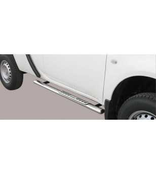 L200 10- Club Cab Design Side Protection Oval - DSP/262/IX - Sidebar / Sidestep - Unspecified