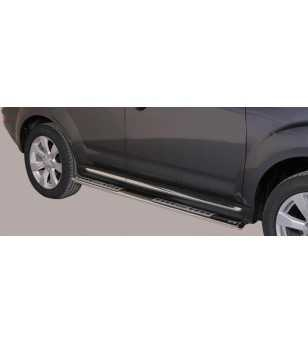 Outlander 10- Design Side Protection Oval - DSP/268/IX - Sidebar / Sidestep - Unspecified