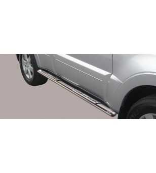 Pajero 07- 5DR Design Side Protection Oval