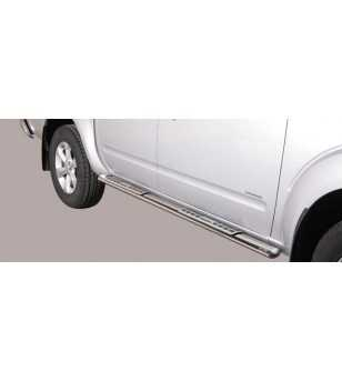 Navara 10- Double Cab Design Side Protection Oval - DSP/269/IX - Sidebar / Sidestep - Verstralershop
