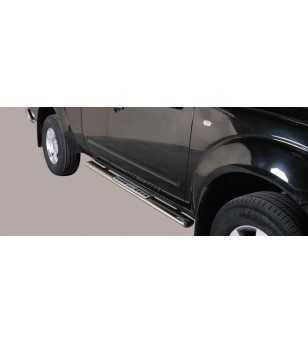 Navara 06-09 King Cab Design Side Protection Oval - DSP/286/IX - Sidebar / Sidestep - Unspecified