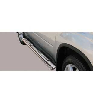 X-Trail 08-10 Design Side Protection Oval - DSP/207/IX - Sidebar / Sidestep - Unspecified - Verstralershop