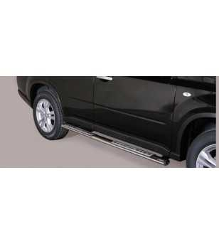 X-Trail 11- Design Side Protection Oval - DSP/287/IX - Sidebar / Sidestep - Unspecified - Verstralershop