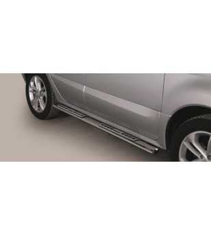 Koleos 07- Design Side Protection Oval - DSP/226/IX - Sidebar / Sidestep - Unspecified