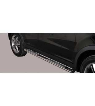 Korando 11- Design Side Protection Oval - DSP/285/IX - Sidebar / Sidestep - Unspecified