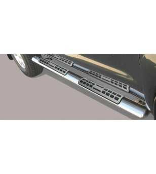 Hilux 06-11 DBL Cab Design Side Protection Oval - DSP/208/IX - Sidebar / Sidestep - Unspecified