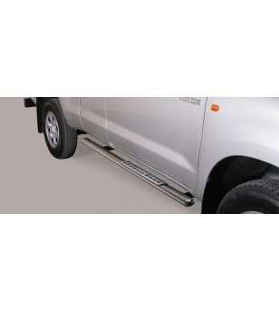 Hilux 06-11 Extra Cab Design Side Protection Oval - DSP/171/IX - Sidebar / Sidestep - Unspecified