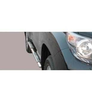 Landcruiser 150 09- 5DR Design Side Protection Oval - DSP/255/IX - Sidebar / Sidestep - Unspecified