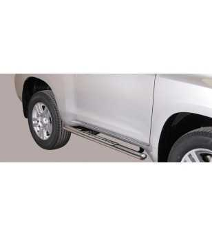 Landcruiser 150 09- 3DR Design Side Protection Oval - DSP/266/IX - Sidebar / Sidestep - Verstralershop