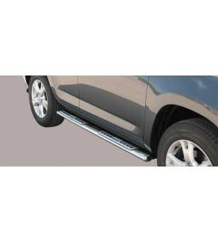 RAV4 09-10 Design Side Protection Oval - DSP/245/IX - Sidebar / Sidestep - Unspecified