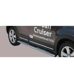 Urban Cruiser 09- Design Side Protection Oval - DSP/249/IX - Sidebar / Sidestep - Unspecified