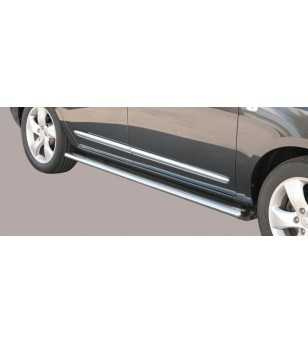 Carens 08- Oval Side Protection