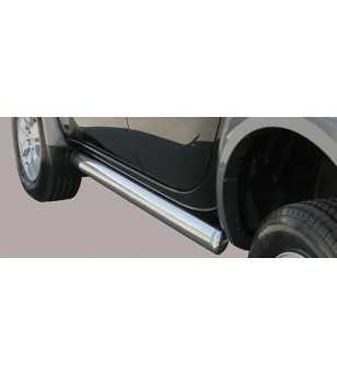 L200 06-09 Double Cab Oval Side Protection - TPSO/178/IX - Sidebar / Sidestep - Unspecified