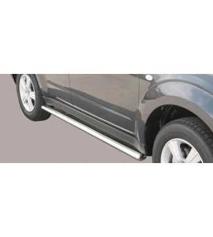 Forester 08- Oval Side Protection - TPSO/220/IX - Sidebar / Sidestep - Unspecified