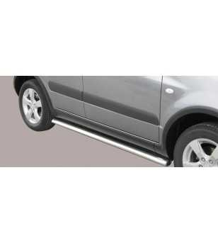 SX4 09- Oval Side Protection - TPSO/258/IX - Sidebar / Sidestep - Unspecified - Verstralershop