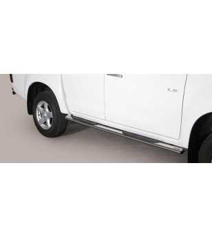 D-Max 12- Double Cab Grand Pedana Oval - GPO/314/IX - Sidebar / Sidestep - Unspecified