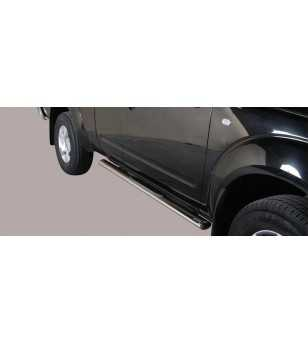 Navara 06-09 King Cab Grand Pedana Oval - GPO/286/IX - Sidebar / Sidestep - Unspecified