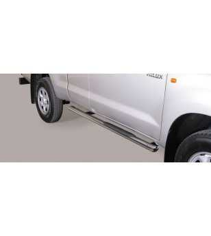 Hilux 06-11 Extra Cab Grand Pedana Oval - GPO/171/IX - Sidebar / Sidestep - Unspecified - Verstralershop