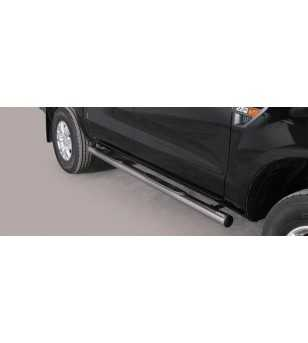 Ranger 12- Double Cab Grand Pedana ø76 - GP/295/IX - Sidebar / Sidestep - Unspecified