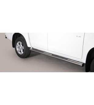 D-Max 12- Double Cab Grand Pedana ø76 - GP/314/IX - Sidebar / Sidestep - Unspecified