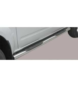 Navara 06-09 Double Cab Grand Pedana ø76 - GP/167/IX - Sidebar / Sidestep - Unspecified