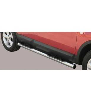 Qashqai 07-09 Grand Pedana ø76 - GP/203/IX - Sidebar / Sidestep - Unspecified