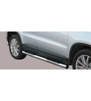 Tiguan 07-11 Grand Pedana ø76 - GP/233/IX - Sidebar / Sidestep - Unspecified