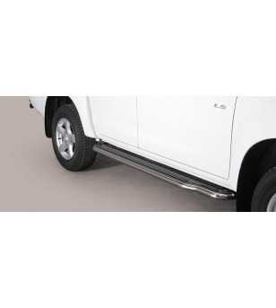 D-Max 12- Double Cab Side Steps
