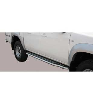 BT50 09-12 Double Cab Side Steps - P/252/IX - Sidebar / Sidestep - Unspecified