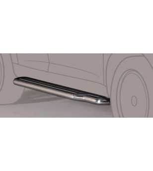 Pajero 00-06 5DR Side Steps - P/126/IX - Sidebar / Sidestep - Unspecified