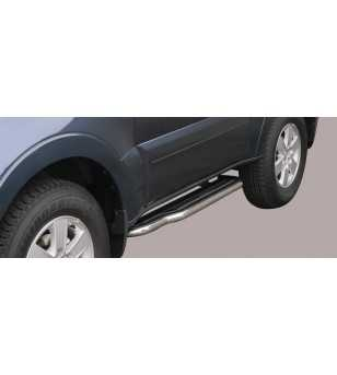 Pajero 07- 3DR Side Steps