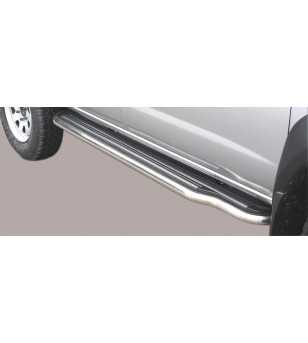 King Cab 02-05 Double Cab Side Steps - P/132/IX - Sidebar / Sidestep - Unspecified