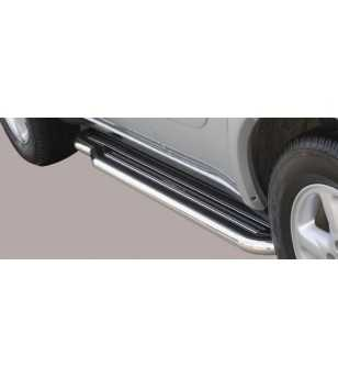 RAV4 00-03 5DR Side Steps - P/108/IX - Sidebar / Sidestep - Unspecified