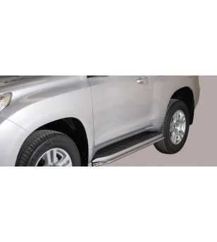 Landcruiser 150 09- 3DR Sidebar Protection - SP/266/IX - Sidebar / Sidestep - Unspecified