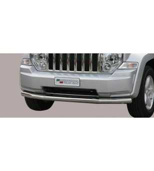 Grand Cherokee 11- Slash Bar ø76 - SLF/298/IX - Bullbar / Lightbar / Bumperbar - Unspecified
