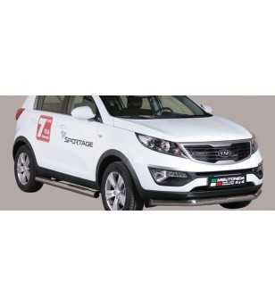 Sportage 11- Slash Bar ø76 - SLF/275/IX - Bullbar / Lightbar / Bumperbar - Unspecified