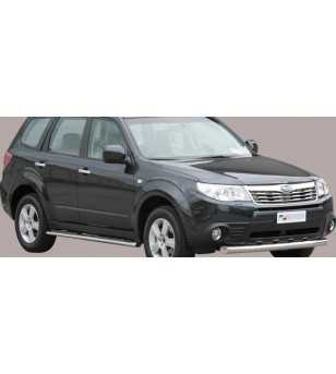 Forester 08- Slash Bar ø76 - SLF/220/IX - Bullbar / Lightbar / Bumperbar - Unspecified