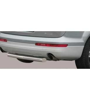 Q7 Slash Rear Protection ø76 - SLR/192/IX - Rearbar / Rearstep - Verstralershop
