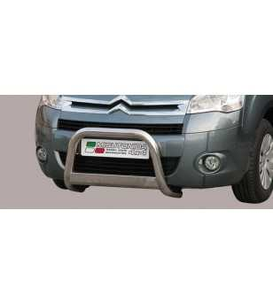 Berlingo 08- Medium Bar ø63 EU - EC/MED/230/IX - Bullbar / Lightbar / Bumperbar - Unspecified