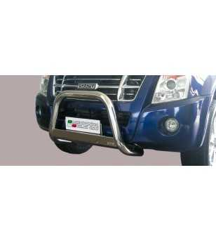 D-Max 08-12 Medium Bar ø63 EU - EC/MED/197/IX - Bullbar / Lightbar / Bumperbar - Unspecified