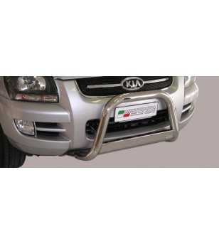 Sportage 05-08 Medium Bar ø63 EU - EC/MED/158/IX - Bullbar / Lightbar / Bumperbar - Unspecified - Verstralershop