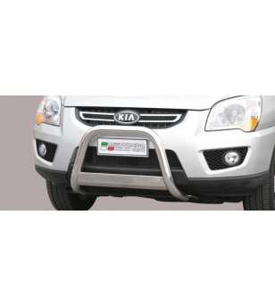 Sportage 09-10 Medium Bar ø63 EU - EC/MED/228/IX - Bullbar / Lightbar / Bumperbar - Unspecified - Verstralershop