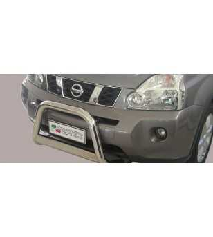 X-Trail 08-10 Medium Bar ø63 EU - EC/MED/207/IX - Bullbar / Lightbar / Bumperbar - Unspecified - Verstralershop