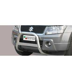 Grand Vitara 05-08 Medium Bar ø63 EU - EC/MED/168/IX - Bullbar / Lightbar / Bumperbar - Unspecified