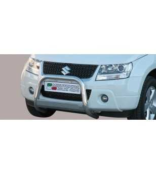 Grand Vitara 09- Medium Bar ø63 EU - EC/MED/236/IX - Bullbar / Lightbar / Bumperbar - Unspecified - Verstralershop