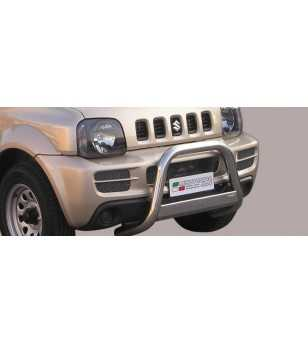 Jimny 06- Medium Bar ø63 EU - EC/MED/177/IX - Bullbar / Lightbar / Bumperbar - Verstralershop