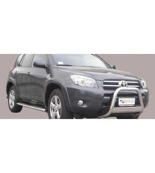 RAV4 06-08 Medium Bar ø63 EU - EC/MED/175/IX - Bullbar / Lightbar / Bumperbar - Unspecified - Verstralershop