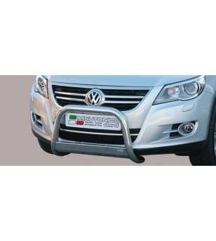 Tiguan 07-11 Medium Bar ø63 EU - EC/MED/233/IX - Bullbar / Lightbar / Bumperbar - Unspecified