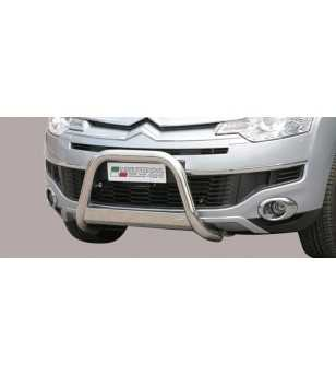 C-Crosser 08- Medium Bar ø63 Inscripted EU - EC/MED/K/221/IX - Bullbar / Lightbar / Bumperbar - Unspecified - Verstralershop